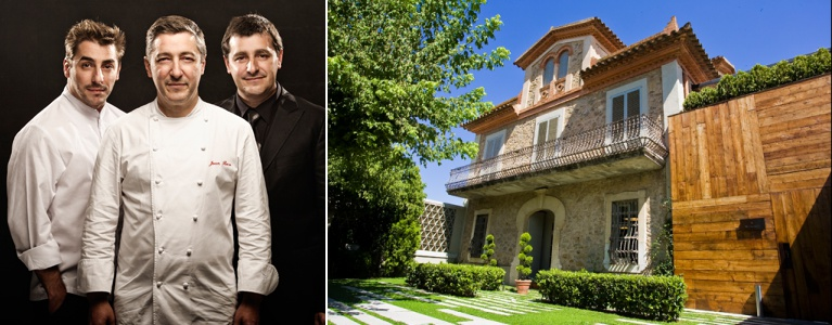 Restaurante El Celler de Can Roca, do chef Joan Roca localizado em Girona (Espanha).
