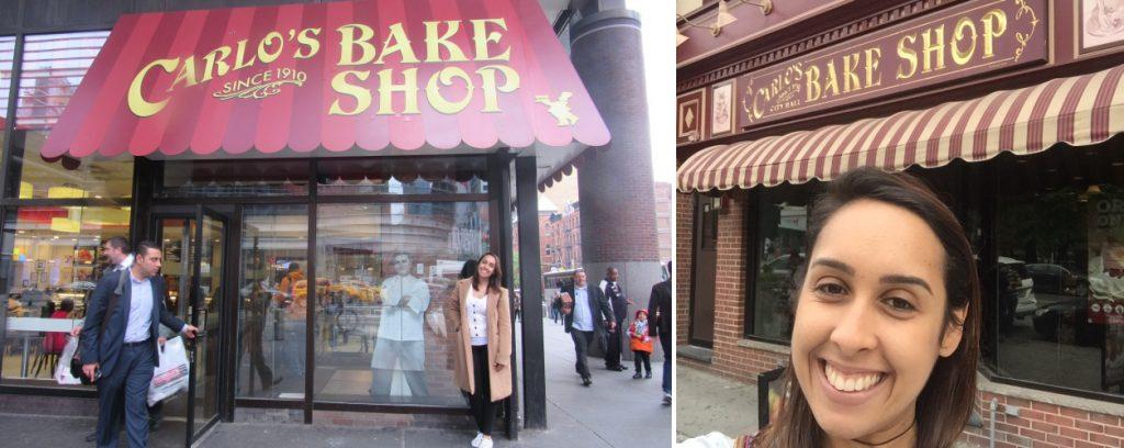 Da esquerda para a direita: Bake Shop em NYC e Bake Shop em Hoboken.