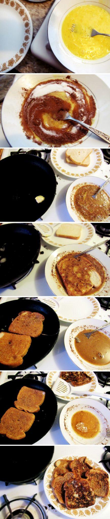 Viu? É bem fácil fazer umas French Toasts!