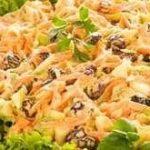 Salada com Uva Passa - Imagem retirada da página receitas.com no PINTEREST