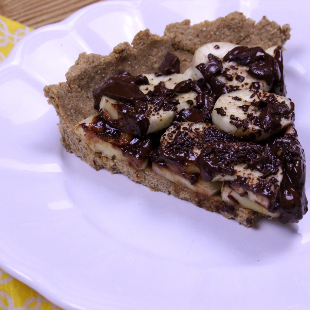 Torta Banana c Chocolate